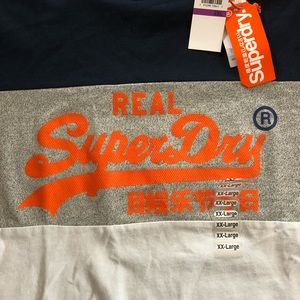 SUPERDRY men's Graphic vintage tee shirt